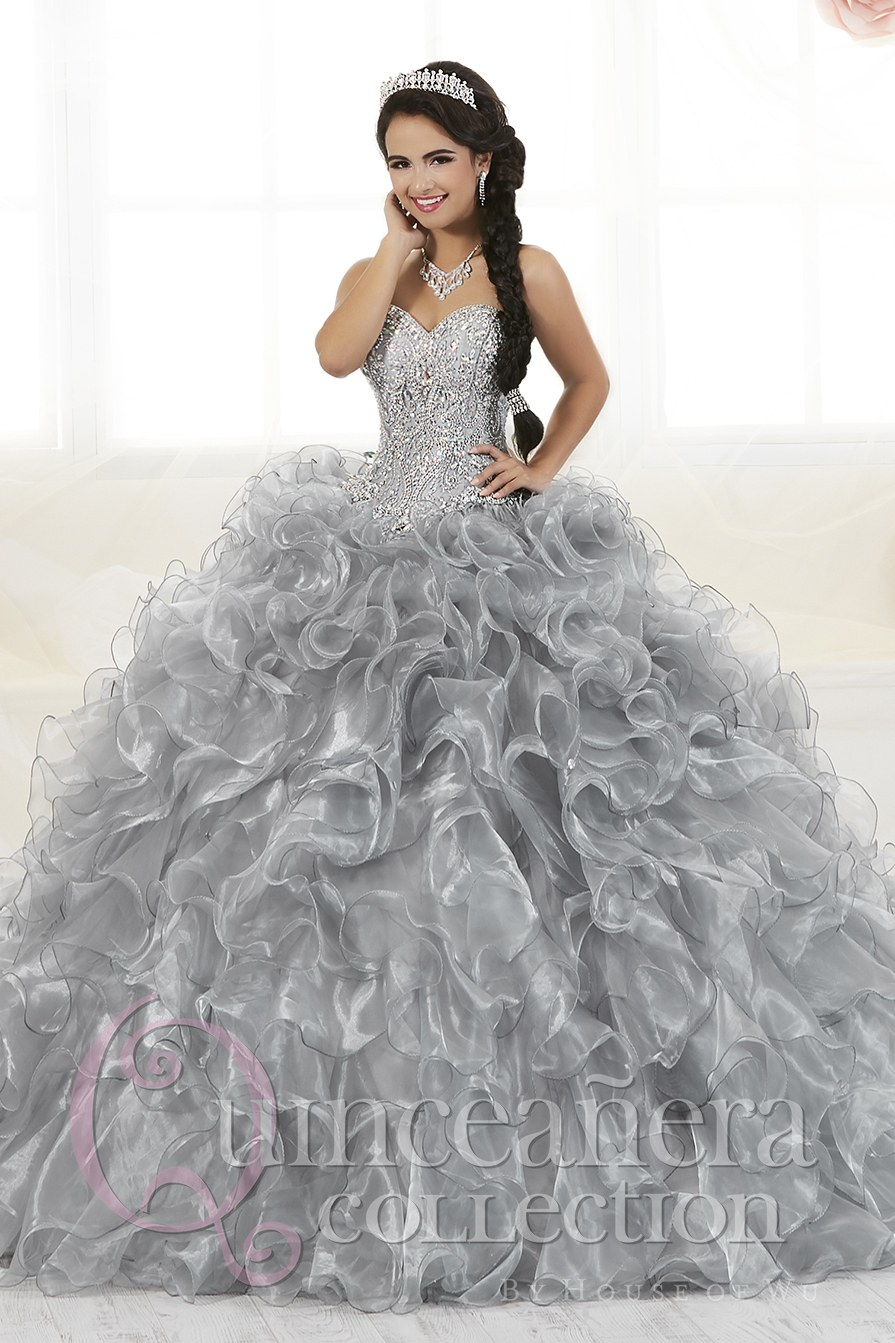 52a3dda7711 Quinceanera Collection 26768 Quinceañera By House Of Wu Bells Bows. 26833  House Of Wu