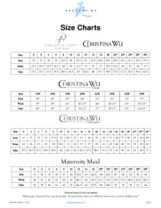 Size Chart Public Rev 11 9 House Of Wu
